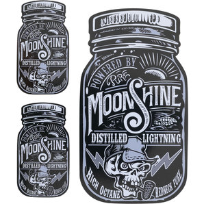 DECAL MOONSHINE