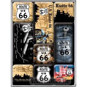 MAGNET-SET *ROUTE 66*