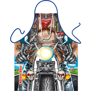 Cooking / barbecue apron Biker