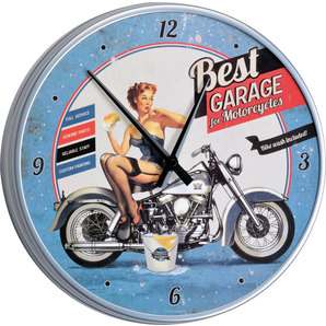 Wallclock Best Garage
