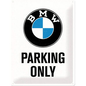 PLAQUE MÉT. *BMW PARKING