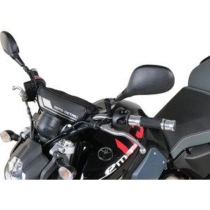 moto detail lenkertasche schwarz mit klettverschluss. Black Bedroom Furniture Sets. Home Design Ideas