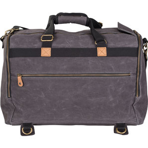 acheter vintage sac de voyage canvas anthracite louis motos et loisirs. Black Bedroom Furniture Sets. Home Design Ideas
