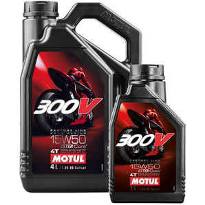 300V 4T Engine Oil SAE 15W-50