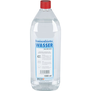 Demineralized Water, 1 Litre