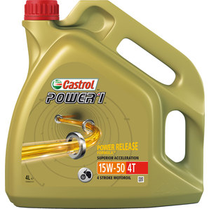 Buy castrol power1 4t engine oil hc synthetic 15w 50 for Castrol synthetic motor oil