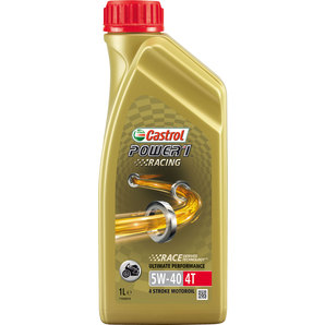 Buy castrol power1 racing 4t hc synthetic 5w 40 louis for 5 w 40 motor oil
