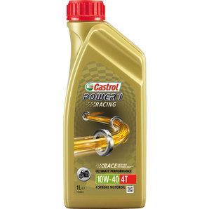 Buy castrol power1 racing 4t engine oil fully synthetic for 10w 40 synthetic motor oil