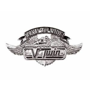 V-TWIN BADGE