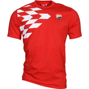 ducati corse grid t shirt kaufen louis motorrad feizeit. Black Bedroom Furniture Sets. Home Design Ideas