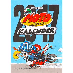 MOTOMANIA CALENDER 2017