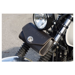 243ecb87cf6 LSL leren tas Clubman Universeel leer, zwart kopen   Louis motor ...