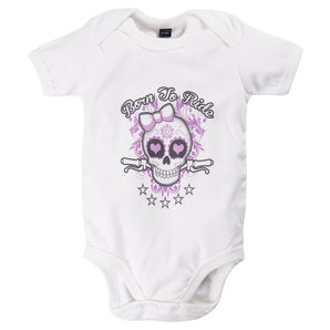 Born To Ride Mädchen Baby-Body
