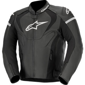 Alpinestars Leather Jacket >> Alpinestars Jaws V3 Leather Combi Jacket