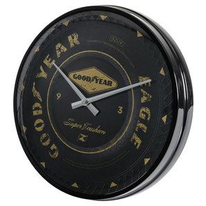 acheter horloge murale goodyear diam tre 31cm louis motos et loisirs. Black Bedroom Furniture Sets. Home Design Ideas