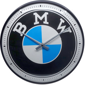 Retro Wallclock BMW Logo
