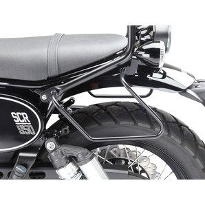 argent barres de support de sacoches de moto Supports de sacoches