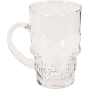 *SKULL* BEER GLASS