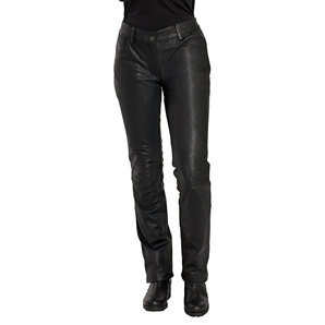 Fashion Damen Lederjeans