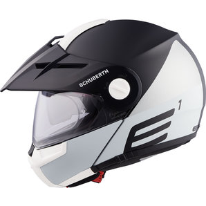 E1 Cut Grey Enduro Helmet