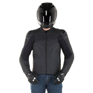 Alpinestars Leather Jacket >> Alpinestars Caliber Leather Combi Jacket