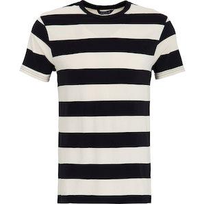 timeless design 54424 87776 King Kerosin T-Shirt schwarz/weiß