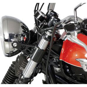 acheter support de phare noir paire louis motos et loisirs. Black Bedroom Furniture Sets. Home Design Ideas