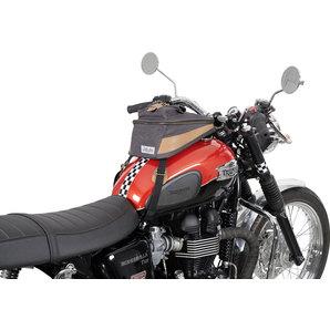 acheter sacoche r servoir vintage toile anthracite louis motos et loisirs. Black Bedroom Furniture Sets. Home Design Ideas