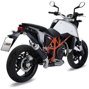 Buy MIVV GP Black Steel Silencer | Louis Motorcycle & Leisure