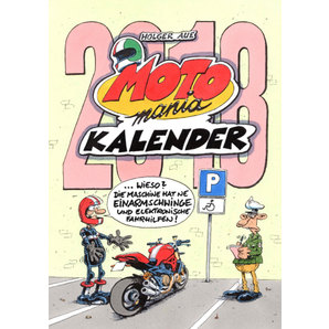 CALENDRIER MOTOMANIA 2018