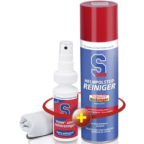 Set: S100 helmbekledingsrein., 300 ml +
