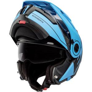 e59a81a786f3f Buy Schuberth E1 Radiant Blue Enduro Helmet