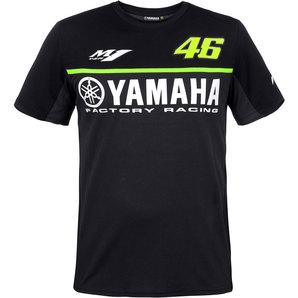 vr46 yamaha black line t shirt kopen louis motor vrije. Black Bedroom Furniture Sets. Home Design Ideas