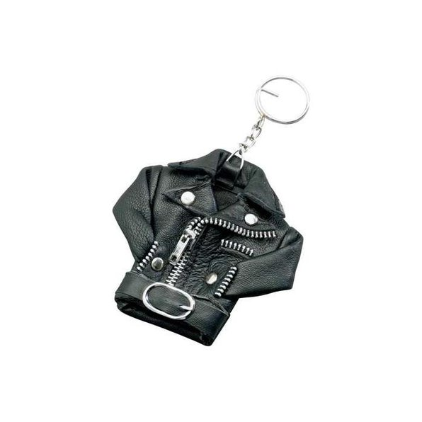 KEY-RING *LEATHER JACKET