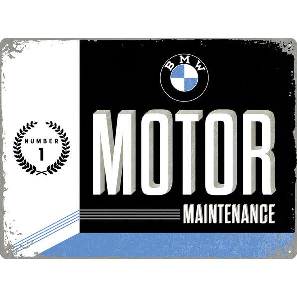 BLECHSCHILD *BMW MOTOR