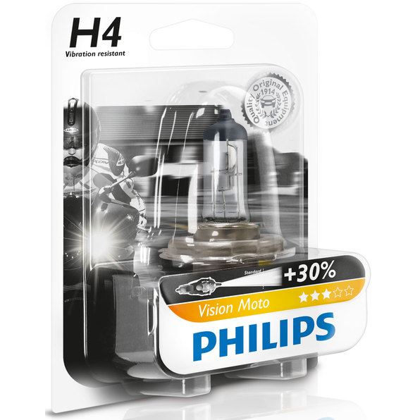 PHILIPS VISION MOTO H4