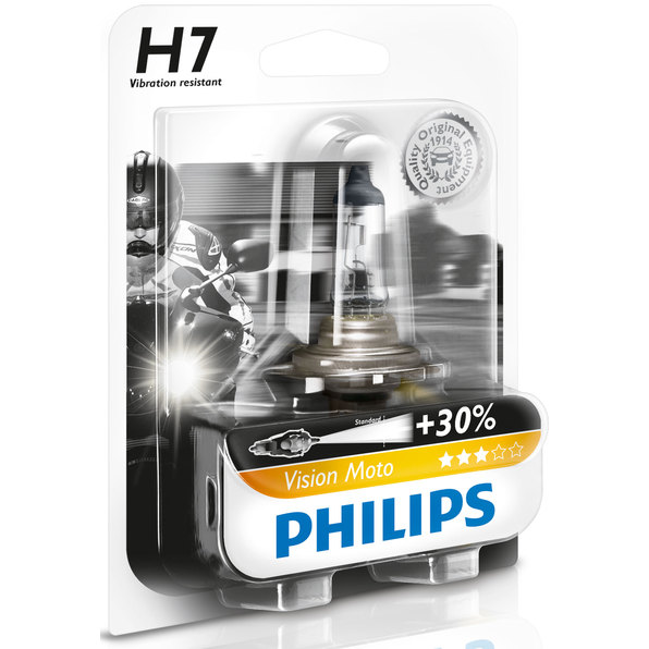 PHILIPS VISION MOTO H7