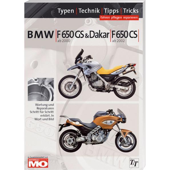 BMW HANDBUCH F 650 GS/CS