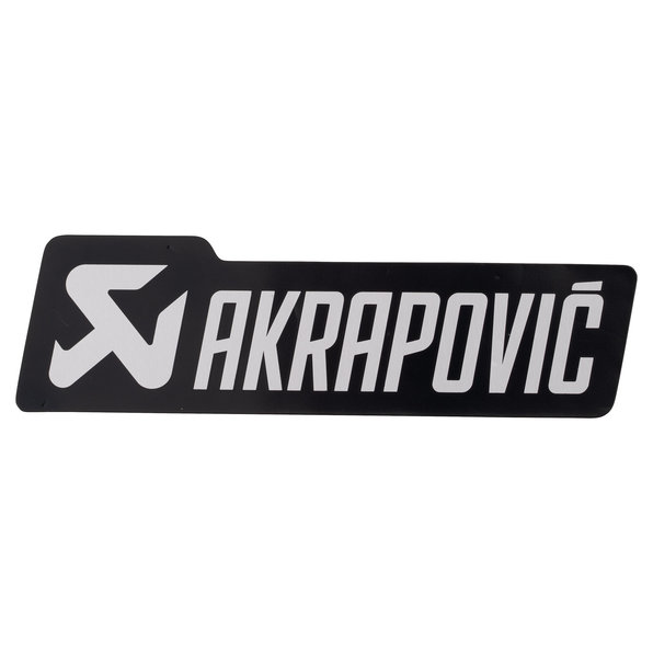 AKRAPOVIC AUFKLEBER