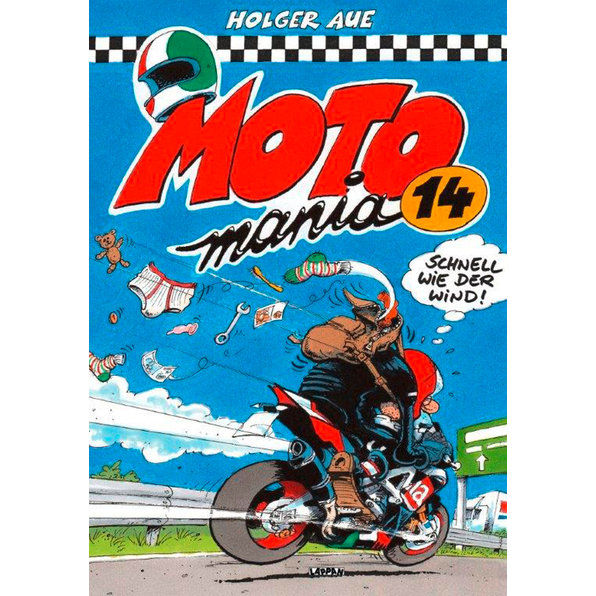 MOTOMANIA COMIC BAND 14