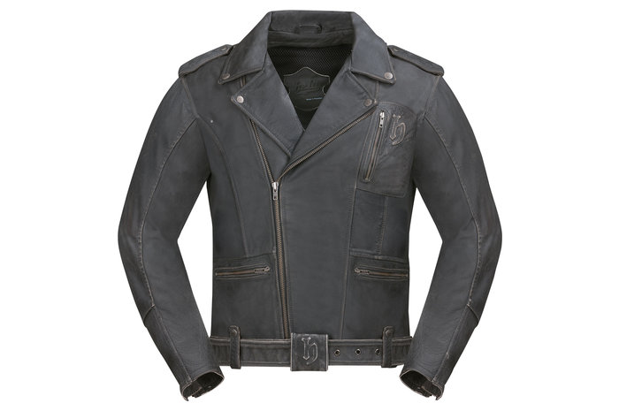 Generous Fender Leather Motorcylce Style Jacket Great Condition Large Embroidered Equipment