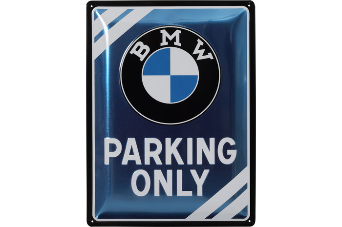 Buy Metal Sign BMW Parking Only Size Xcm Louis Moto - Bmw parking only signs