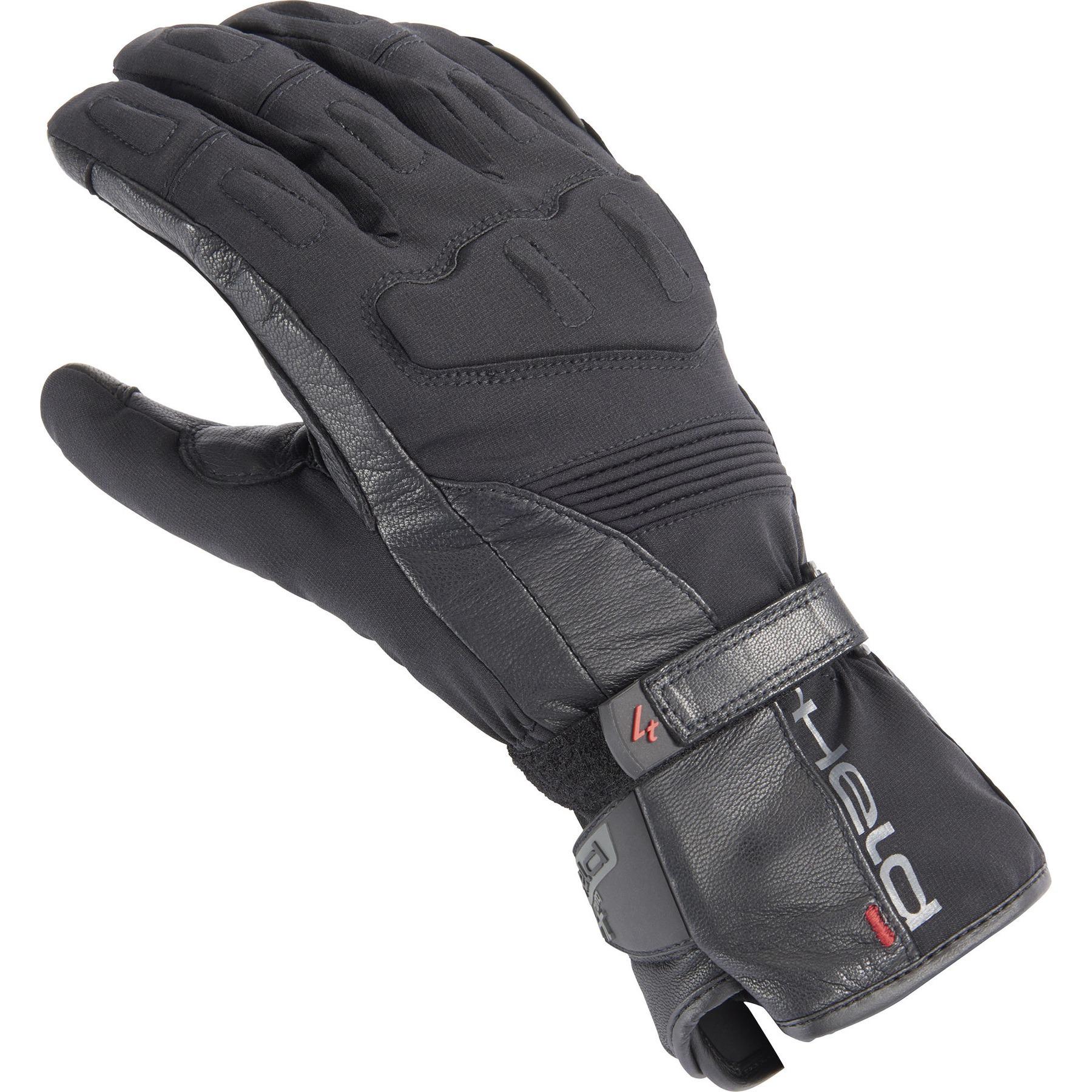 Leather Gloves Held Travel 5 Black 9
