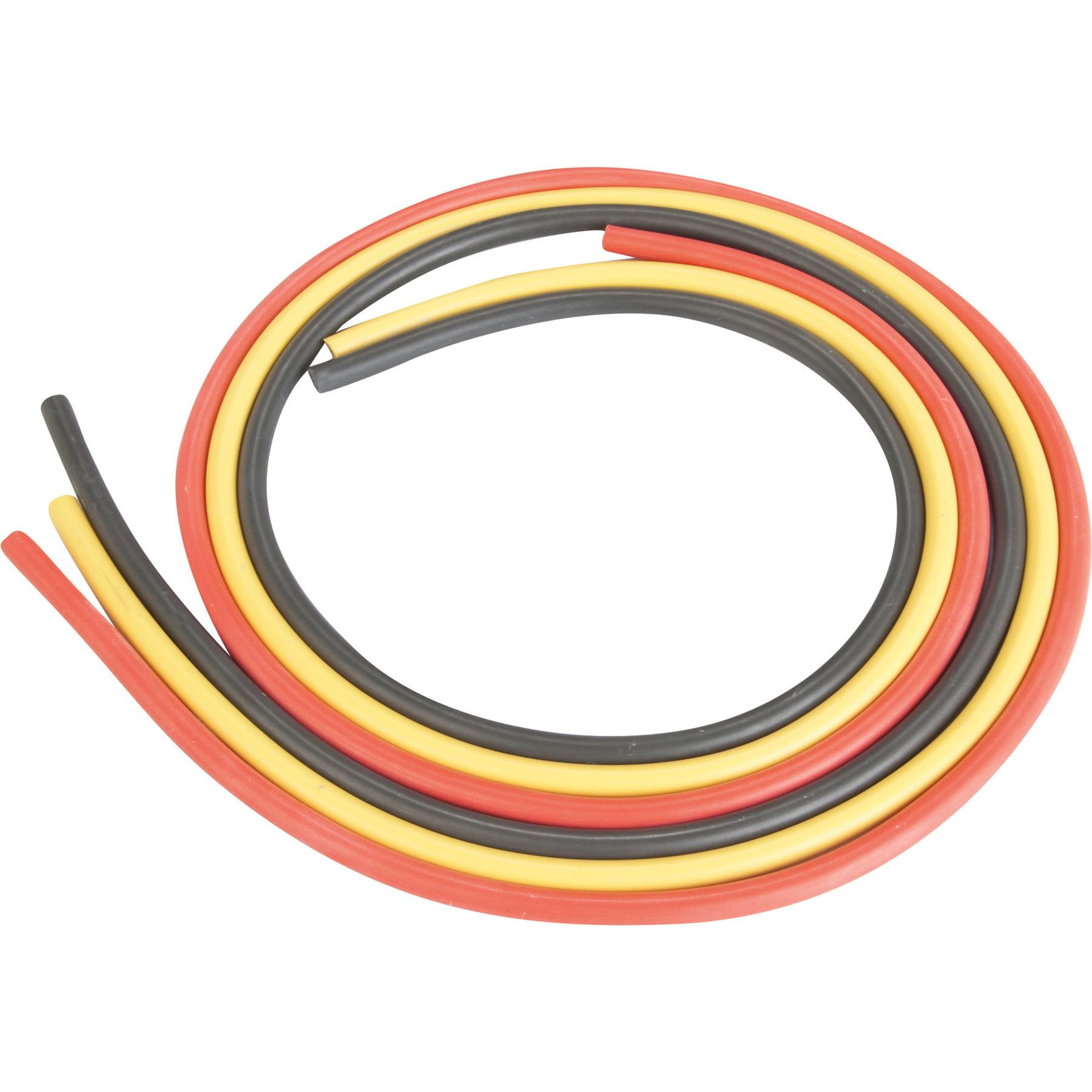 New Spark Plug Cable Copper Core Black 7mm 5 meters