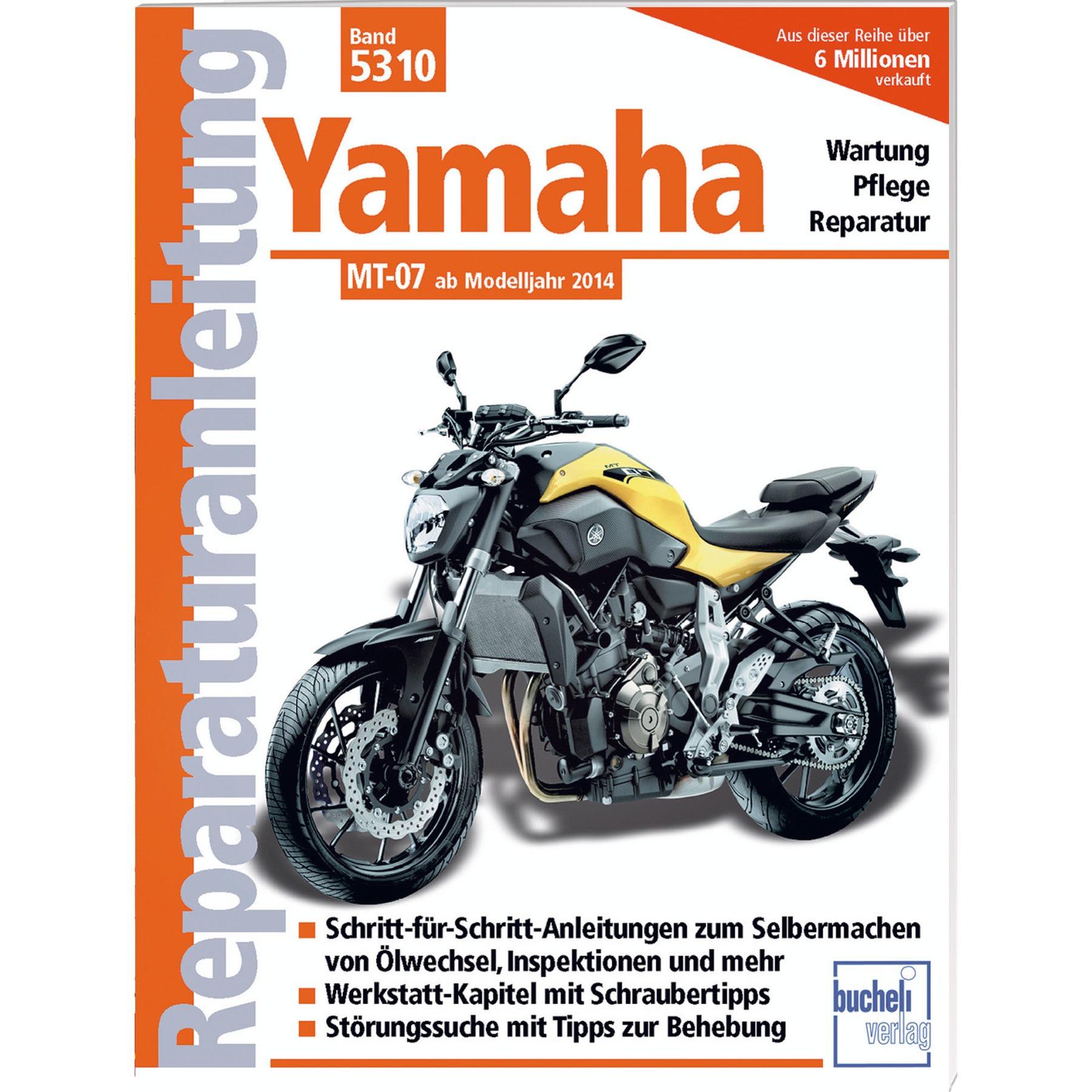 Reparaturanleitungen Yamaha YZF-R6