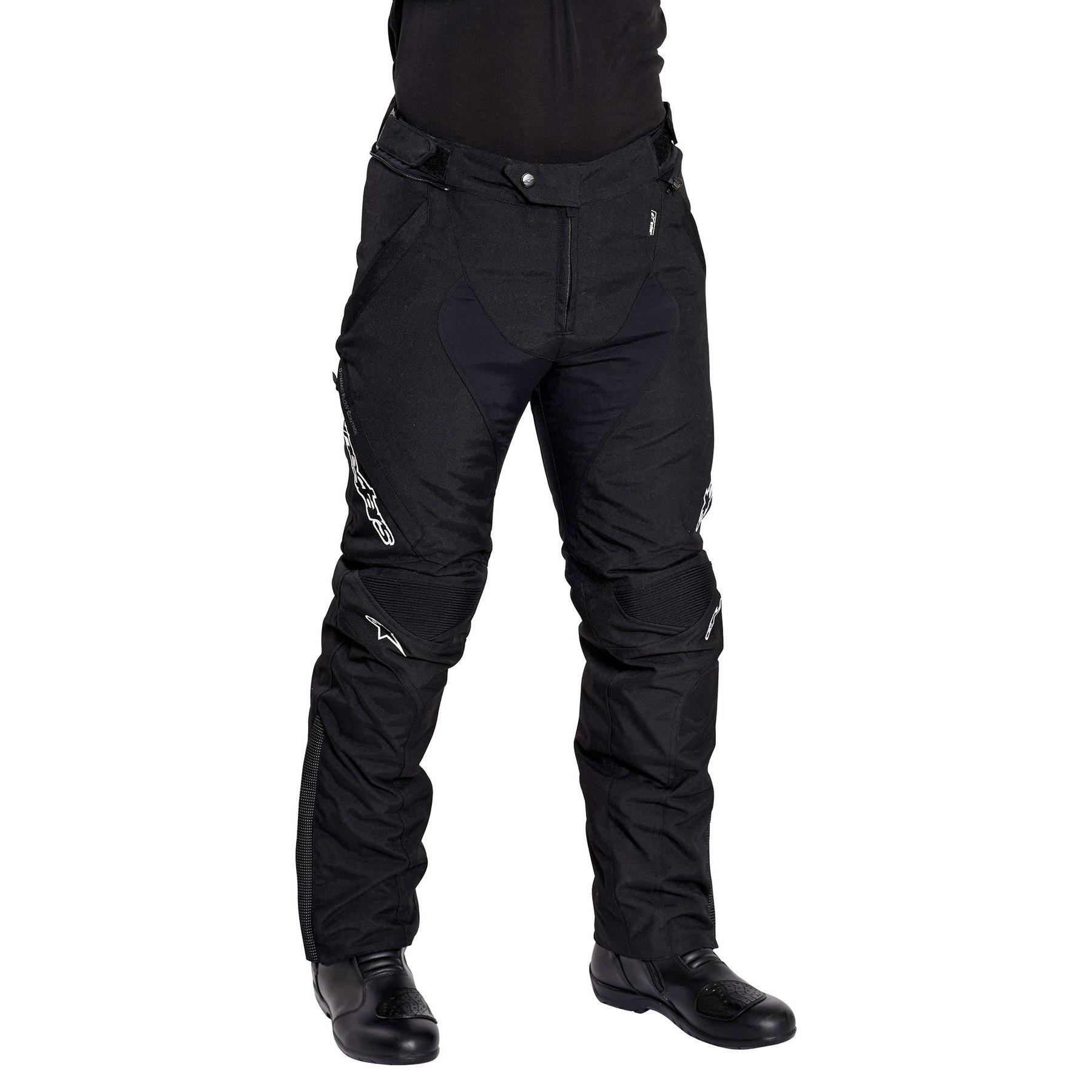 Black,Small Alpinestars Mens Raider Drystar Pants