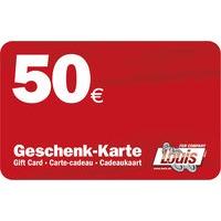 50,- GESCHENK-KARTE