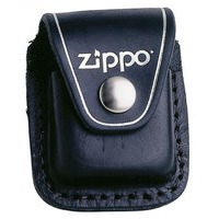 ZIPPO BELT POUCH *LOGO* REAL LEATHER
