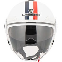 Caberg Uptown Chrono Open Face Motorcycle Helmet L White Blue Red