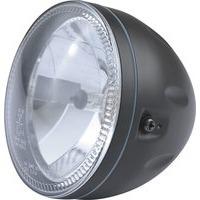 HEADLIGHT BLACK WITH LED PARKING LIGHT